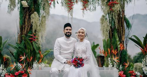 Alam Jadi Saksi Pernikahan Adam Sinclair dan Yunalis Zarai