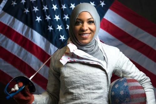Atlet Berhijab Pertama Yang Dikirimkan Amerika Serikat Ini Berhasil Peroleh Medali Perunggu