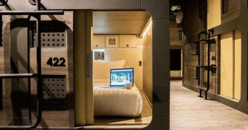 Begini Keuntungan Menginap di Hotel Kapsul untuk Para Traveler