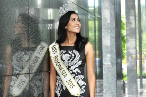 Beginilah Cara Miss Indonesia 2015, Maria Harfanti, Mempertahankan Berat Badan Idealnya
