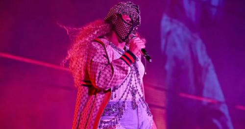 Beyonce Mengguncang Panggung dengan Kostum Spektakuler