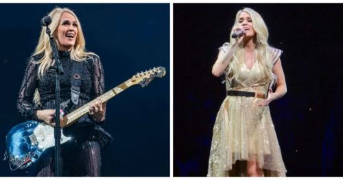 Patut Berbangga, Carrie Underwood Kenakan Busana Karya Desainer Asal Surabaya untuk Tur di AS