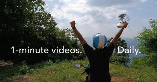 Curi Inspirasi dari Vlogger dengan Video 1 Menitnya