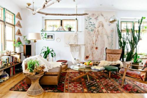 Gaya Interior New Bohemian Yang Akan Membuat Hunian Lebih Eksotis dan Hangat