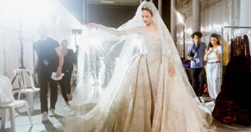 Inspirasi Gaun Pengantin untuk Pengguna Hijab