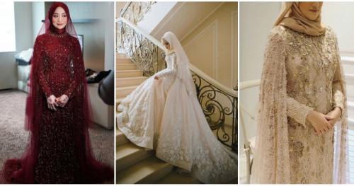Siap Jadi Ratu Sehari! Inilah Inspirasi Gaun Pengantin untuk Pengguna Hijab