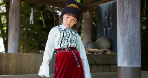 Inspirasi Gaya dari Bocah Modis Asal Jepang