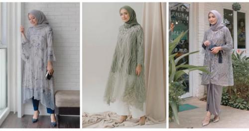 Inspirasi Tampilan Formal dengan Brokat untuk Hijabers a la Mega Iskanti