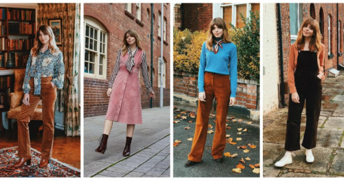 Tren Corduroy Kembali In! Contek Inspirasinya dari Fashion Blogger Ini