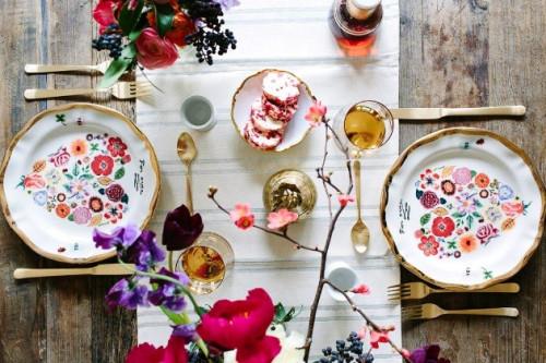 Jelang Valentine, Inilah Inspirasi Table Setting Untuk Jamuan Romantis