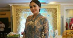 Tampilan Cantik Nagita Slavina dalam Aneka Model Kebaya Brokat