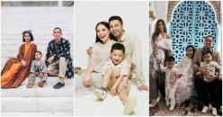 Mengintip Ulang Baju Lebaran Keluarga Para Selebriti, Keren dan Stylish!