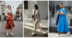 Tips Memadukan Dress dengan Sneakers Agar Penampilan Makin Stylish