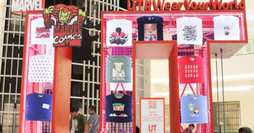 Eksplorasi Koleksi T-shirt Berkarakter Seru dari Uniqlo di Pameran #WearYourWorld