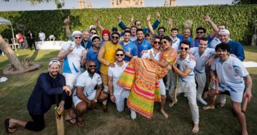Bak Kerajaan, Tamu Pernikahan Nick Jonas dan Priyanka Chopra Tanding Cricket