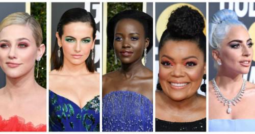 Inspirasi Riasan Mata Cantik Penuh Warna dari 'Golden Globes Awards 2019'