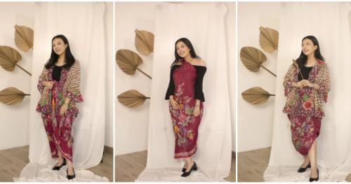 Selamat Hari Batik Nasional! Berikut Cara Memakai Kain Batik untuk Berbagai Gaya Tampilan