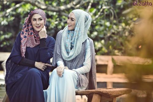 Stylish Dengan Busana Hijab Sporty dan Scarf Cantik