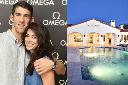 Yuk, Intip Rumah Seharga 2,5 Juta Dollar Milik Atlet Renang Michael Phelps