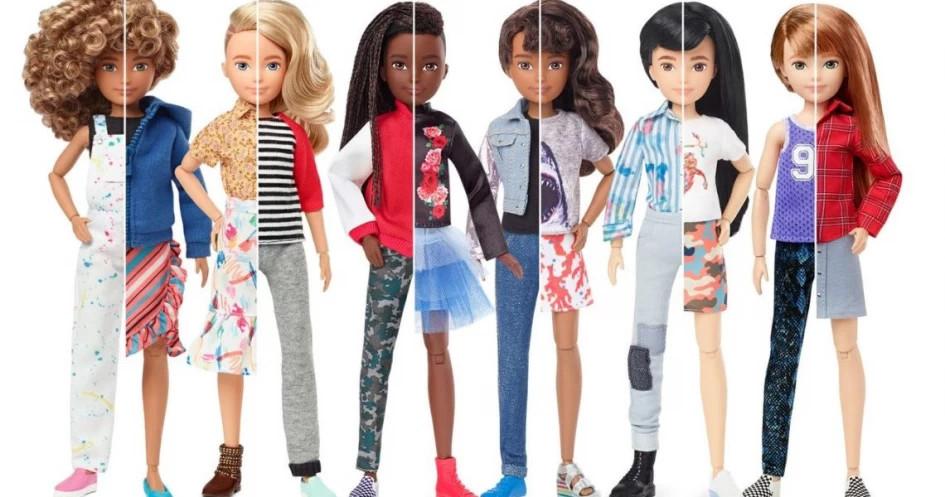 Creatable World Bentuk Baru Boneka Barbie Yang Istimewa Glitzmedia Co